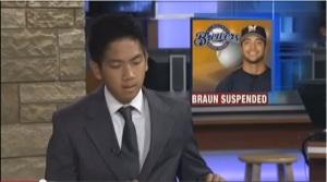 braun suspended