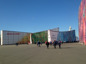 Welcome to Sochi Olympic Park!