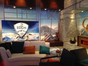 Inside the NBC Primetime Studio at the IBC.