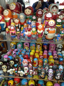 The famous Matryoshka dolls.